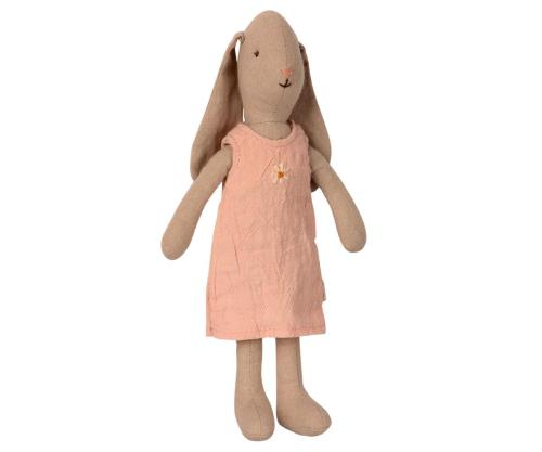Maileg Hase Size 1 rosa Kleid