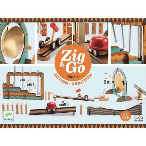 Djeco Baukasten Musik Zig & Go