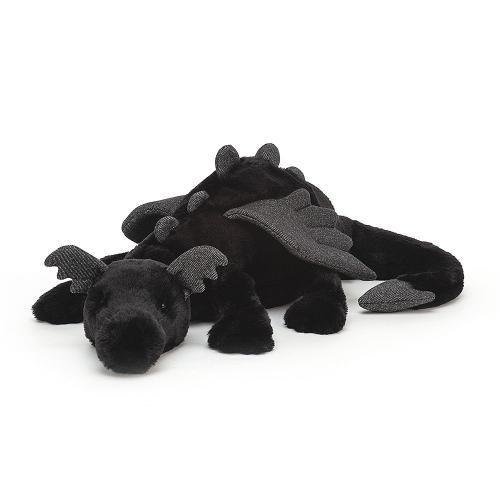 Jellycat ONYX Drache XL schwarz
