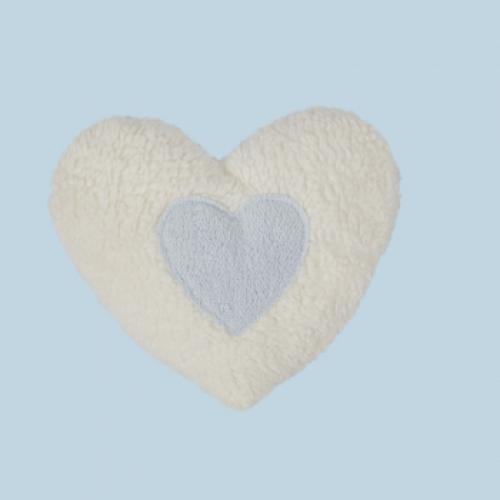 Wärmekissen Kirschkern vegan Herz blau Efie