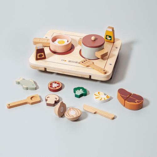 Kinderküche Holz Petit Monkey