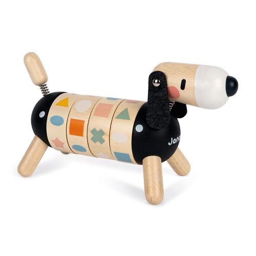 Janod Lernspielzeug Hund