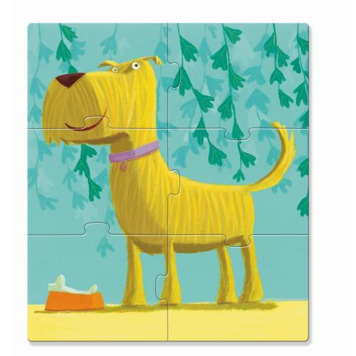 Djeco Primopuzzle Dogs Hunde