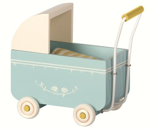 Maileg Puppenwagen blau My your little kingdom