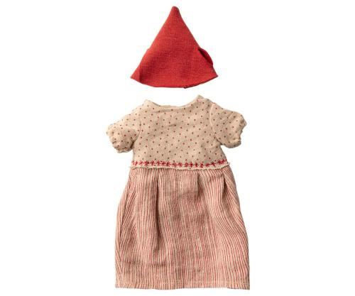 Maileg Weihnachtskleid Maus Mädchen girl medium bei your little kingdom