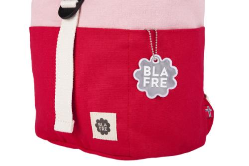 Blafre Kinderrucksack rot rosa Details roll top 7L bei your little kingdom
