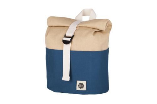Blafre Kinderrucksack Dunkelblau roll top 7L bei your little kingdom