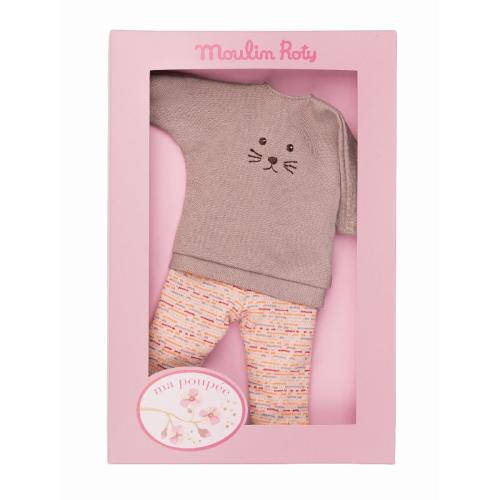 MOULIN ROTY Puppenkleidung Sweatshirt & Hose