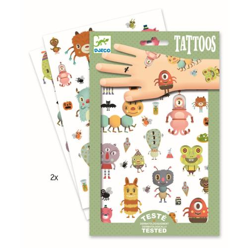 Djeco Tattoos Monster
