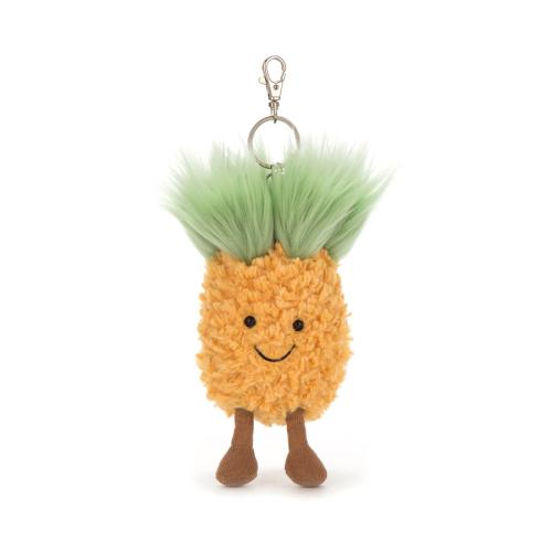 Jellycat Amusables Pinapple bag charm