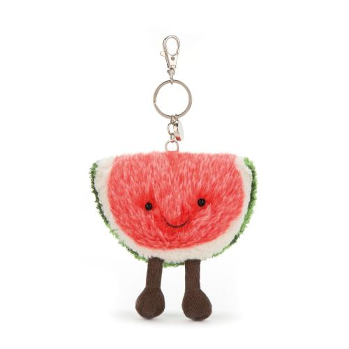 Jellycat Amusables Watermelon bag charm