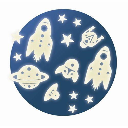 Djeco Wandsticker Space Mission