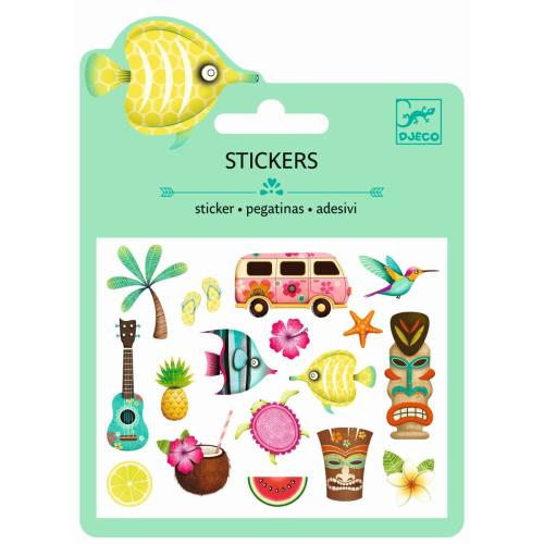 Sticker - Mini Craft Pack - Hawaii - DJECO