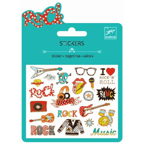 Sticker - Mini Craft Pack - Rock n Roll - DJECO