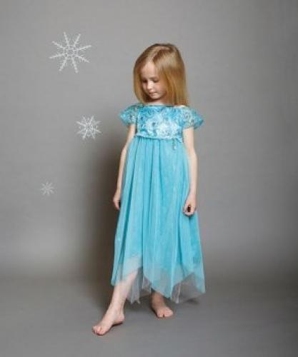 5-6 Disney Boutique Collection Partykleid Elsa