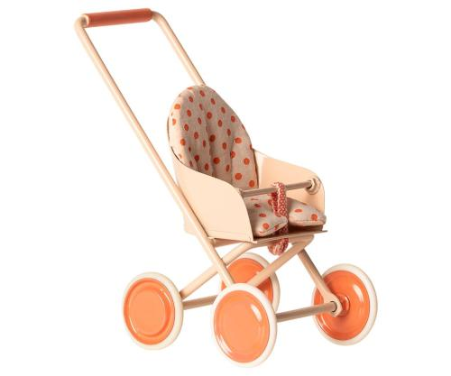 Maileg Buggy Kinderwagen koral bei your little kingdom