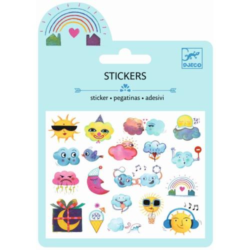 Sticker -  Mini Craft Pack - Wetter - DJECO