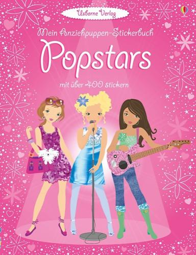 Stickerbuch Popstars Usborne