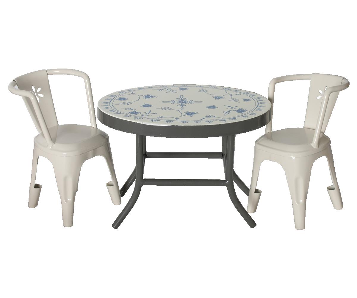 maileg bistrotisch mit st hlen kinder und babygeschenke. Black Bedroom Furniture Sets. Home Design Ideas