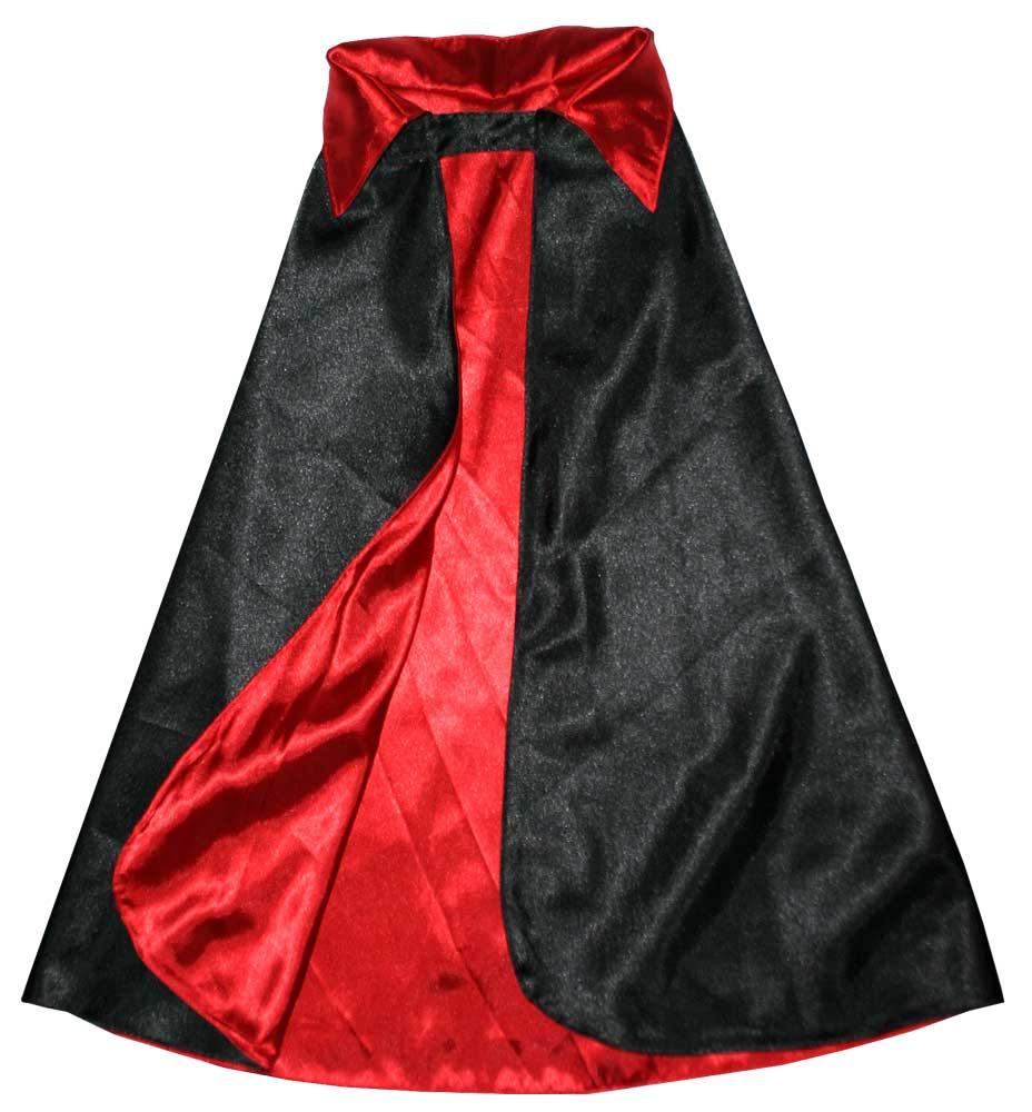 Vampirumhang,Teufelsumhang,Umhang schwarz,rot,Umhang für Vampire ...
