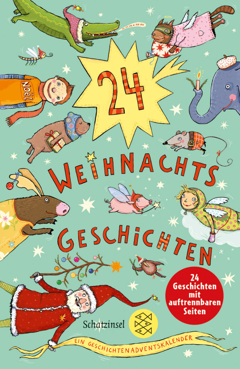 24 Geschichten für die Zeit bis Weihnachten Adventskalender ...