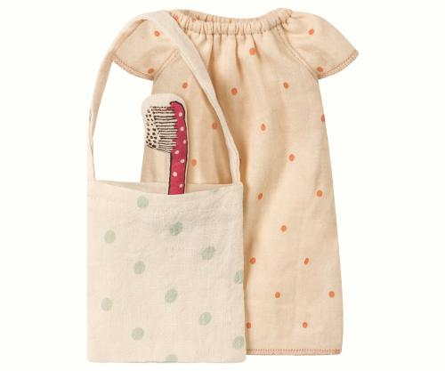 Maileg Maus Nachthemd medium mit Tasche bei your little kingdom