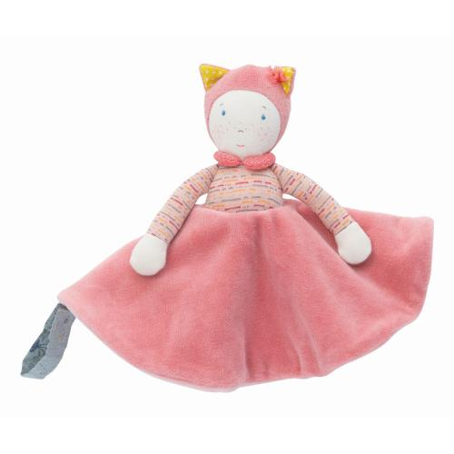 Moulin Roty Kuscheltuch Mademoiselle bei your little kingdom