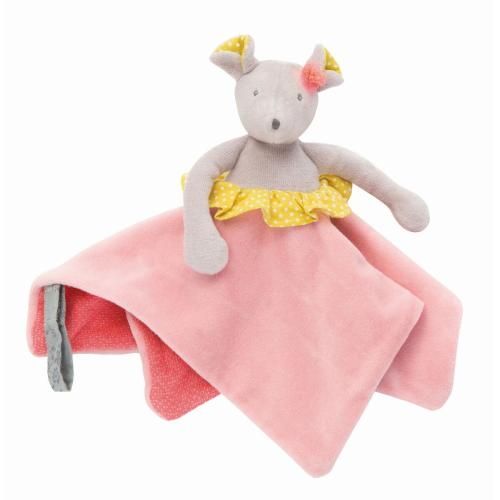 Moulin Roty Kuscheltuch Mademoiselle souris bei your little kingdom