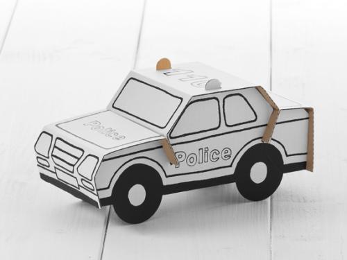 calafant polizeiauto kinder und babygeschenke. Black Bedroom Furniture Sets. Home Design Ideas