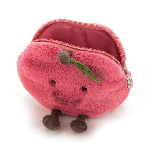 Jellycat Amusables Cherry Pouch Geldbörse your little kingdom