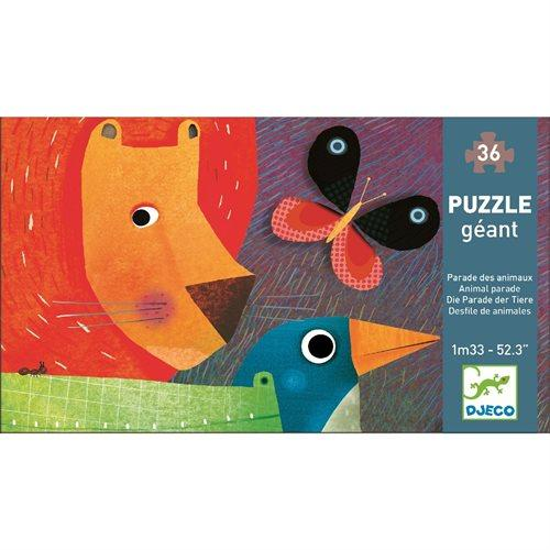 Djeco Riesenpuzzle Animal Parade