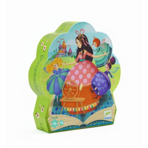 Djeco Formenpuzzle Sleeping Beauty