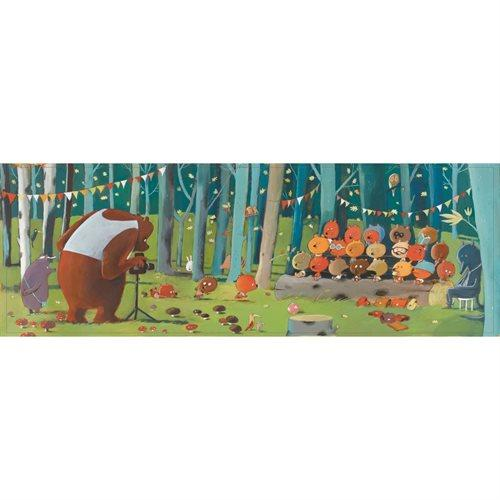 Djeco Gallerie Puzzle Wald Tiere