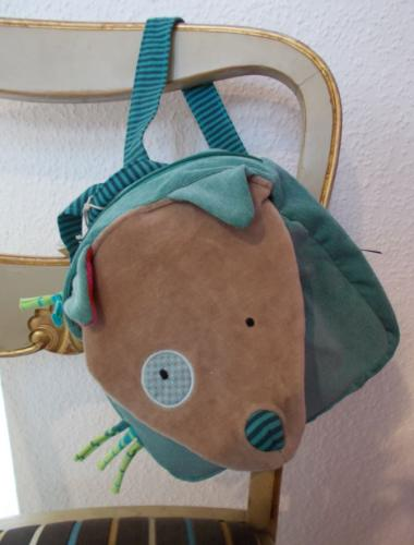 Moulin Roty Rucksack Wolf
