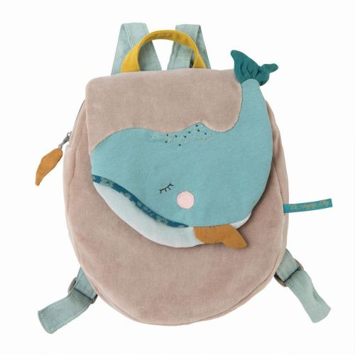 Moulin Roty Rucksack Wal bei your little kingdom