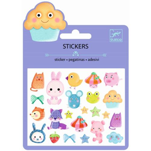 Mini Craft Sticker Kawaii von Djeco